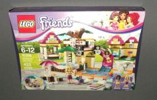 Friends Set 41008 Heartlake City Pool w Andrea Isabella Figures