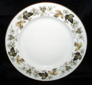 Royal Doulton China Luncheon Plate 9 Larchmont T C 1019