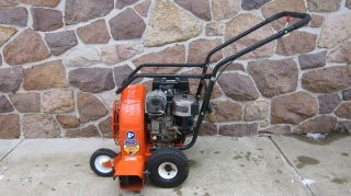 BILLY GOAT 8HP COMMERCIAL WALK BEHIND LEAF BLOWER WITH MANUALS EX