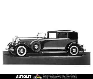 1932 Lincoln LeBaron Town Car Factory Photo