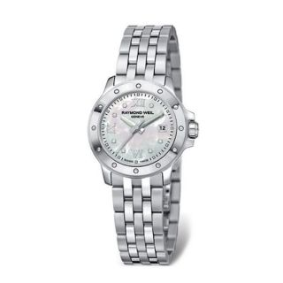 Raymond Weil Tango Womens Stainless Steel MOP Dial Watch 5399 St 00995