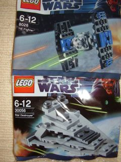 Lego Star Wars Mini SHIP Sets x 2 Advent Calendar Stocking Filler