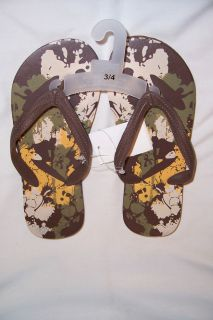 Youth Girls Flip Flops Size XL 3 4