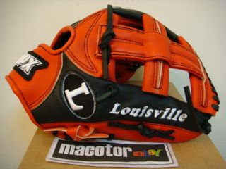 Louisville Slugger TPX 12 Infield Baseball Glove Red Black RHT