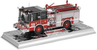 32 Code 3 Diamond Plate Chicago Fire Dept Company 59 Luverne Pumper