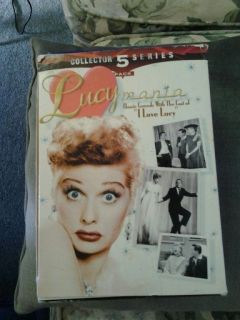 Love Lucy Collection of VHS Tapes starring Lucille Ball
