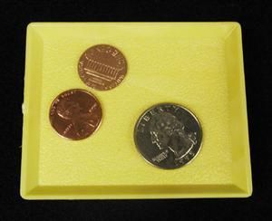 Coin Magic Trick Royal Multiplying Coin Tray Close Up