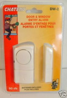 Door Window Entry Alarm Magnetic Sensor Home Office