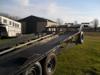 Gooseneck Transporter 2 or 3 Car Hauler Wedge Trailer Hauler