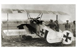 WW1 German Ace Manfred von Richthofen Red Baron Fokker Dr1 Triplane F1
