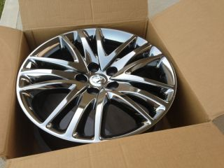 Lexus LS460 LS600H  19 Chrome Wheel Rim Hybrid Stock