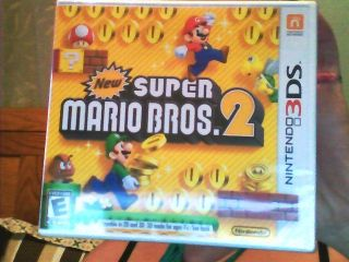 New Super Mario Bros 2 Nintendo 3DS 2012