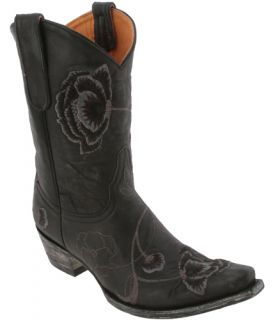 Old Gringo Black Grey Leather Marsha 10 Western Boots Womens