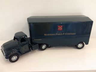 1955 Tonka Marshall Field Co Semi Truck Trailer All Original