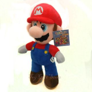 New Super Mario Bros Stand Mario Plush Doll Stuffed Toy 8 5