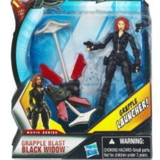 MARVEL UNIVERSE THE AVENGERS BLACK WIDOW MOVIE SERIES ACTION FIGURE