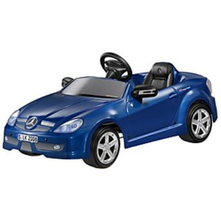 Mercedes Benz Kids SLK Electric Car Blue