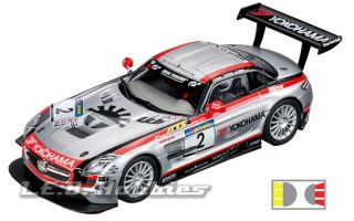 Carrera 30551 Digital 132 Mercedes Benz SLS AMG GT3 Team Black Falcon