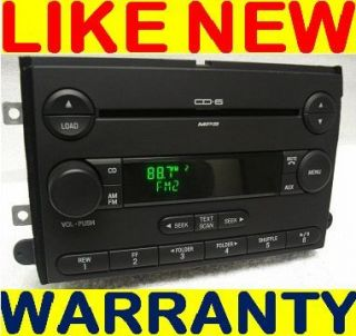 Ford Fusion Mercury Milan Radio  Aux 6 Disc CD Changer 6E5T 18C815