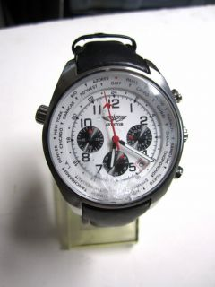 Mens Aviator Chronograph Watch AVW5839G4 Running