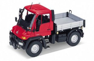 New Mercedes Benz Unimog U400 SUV1 24 Alloy Diecast Model Car Red