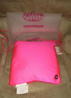 Cute Pink Microbead Conair Sqweez Massaging Pillow