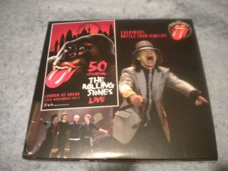 STONES LIVE 1ST SHOW 02 ARENA 2012 2 CD MICK TAYLOR KEITH RICHARDS