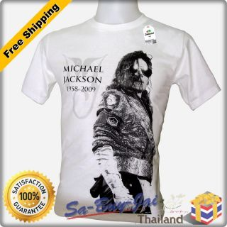 Shirt Michael Jackson MJ V3 King of Pop Legend Rock RTO Vtg Sz M L