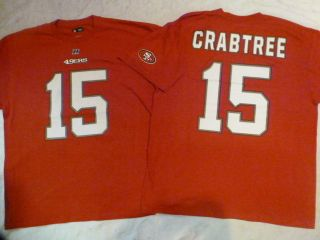 924 NFL Apparel San Francisco 49ers Michael Crabtree Football Jersey