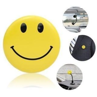 Mini DV Smiley Badge Spy Camera with  Player DVR  Recorder