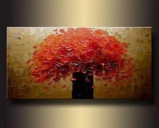 MODERN ABSTRACT HUGE LARGE CANVAS ART OIL PAINTING+FREE GIFT