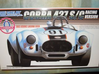 Fujimi 1/24 Shelby 427 S/C Cobra Racing V.Model Car Kit