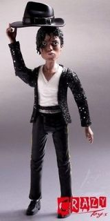 JACKSON MJ KING OF POP BILLIE JEAN CRAZY TOYS ACTION FIGURE 6 Inches