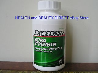 EXCEDRIN EXTRA STRENGTH Pain Reliever 300 Caplets