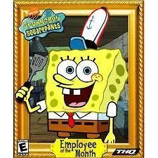 NEW SpongeBob SquarePants Employee of the Month (PC, 2002 ) Games
