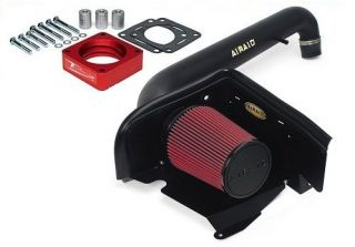 AIRAID AIR INTAKE / THROTTLE BODY SPACER FOR 1997 2006 JEEP WRANGLER