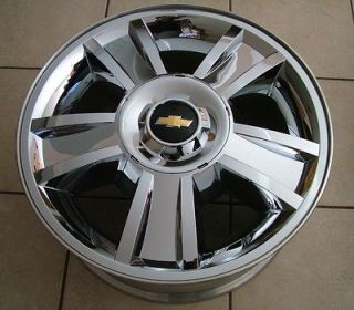 2012 Chevy Tahoe Silverado Avalanche Suburban 20 Chrome Clad Wheels