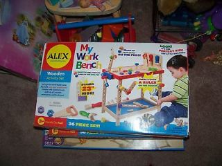 Alex Toys My Work Bench by Alex Toys Wooden Activity Set with Tools