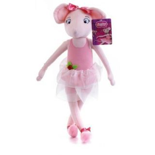 17 ANGELINA BALLERINA CARTOON SOFT TOY PLUSH DOLL TEDDY BNWT