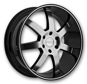 BLACK POLISH WHEELS TIRES RIMS 6x139 CHEVY GMC ARMADA YUKON AVALANCHE