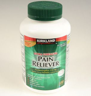 KIRKLAND Signature Extra Strength Pain Reliever 500 tablets generic