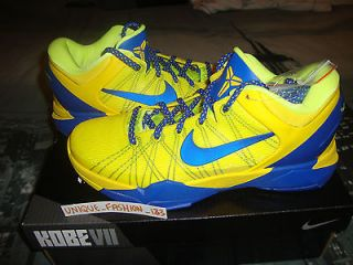 2012 NIKE KOBE VII 7 FC BARCELONA BARCA HOME AWAY TEAL US 15 UK 14 EU