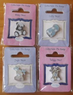 BNIP My Blue Nose Friends Collectable Pin Badges   Free P&P within UK