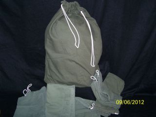 Barracks Bag US Military Army USMC Surplus Laundry Grab Sack Free