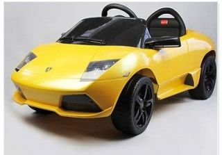 Battery Powered Ride On Toy car Luxurious Lamborghini Power Wheel Free