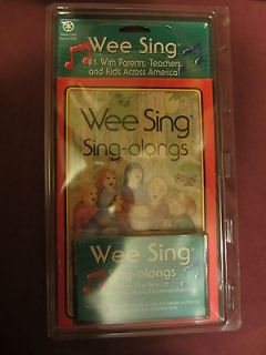 WEE SING SING ALONGS BOOK WITH CASSETTE NEW IN PACKAGE