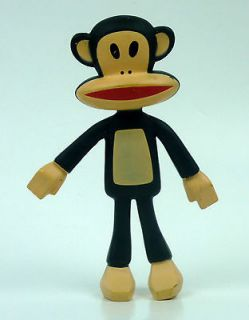Paul Frank Julius Monkey Toy # 8 Bendy Bendable PVC Figure Doll 2012