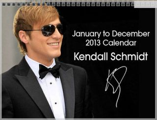 Kendall Schmidt Big Time Rush January December 2013 Photo Wall