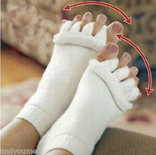 Massage Toe Socks Blood Circulation Relieve Pain Yoga GYM Foot Massage