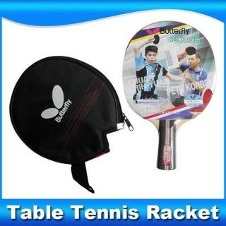 Butterfly TBC302 FL Ping Pong Paddle Shake Hand Table Tennis Racket